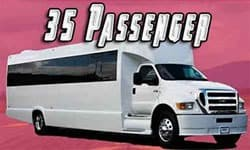 35 Passenger Party bus link to vehicle personal page