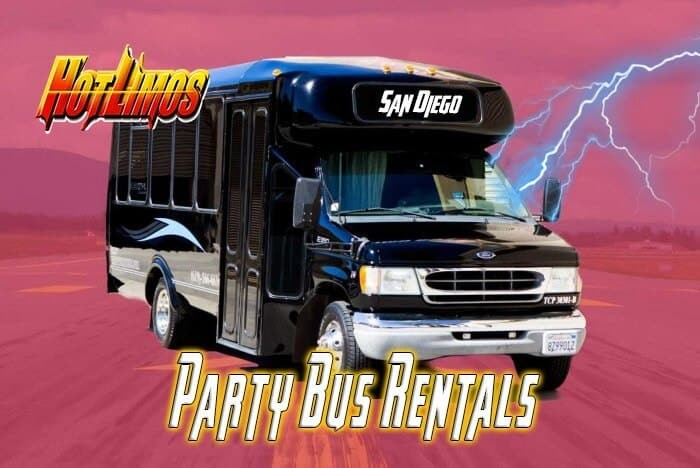 Mini Party Bus – 16 Passengers – 20 Passengers