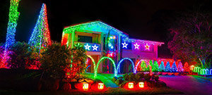chrishtmas lights house tours by hotlimos